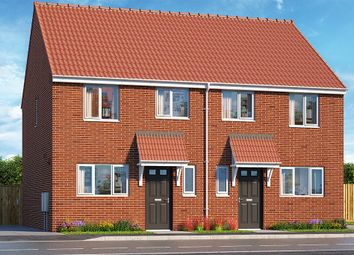 "Thumbnail 3 bed property for sale in ""The Hadley"" at Brook Park East Road, Shirebrook, Mansfield"