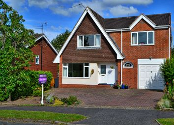 Thumbnail 4 bedroom detached house for sale in Belgrave Avenue, Alsager