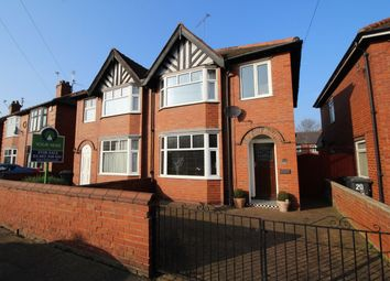 Thumbnail 3 bed semi-detached house for sale in Clumber Road, Belle Vue, Doncaster