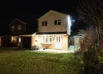Thumbnail 3 bed detached house for sale in Gainford Rise, Coventry