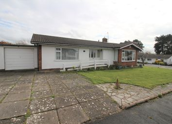 Thumbnail 2 bed detached bungalow for sale in Hawks Way, Lower Heswall, Wirral