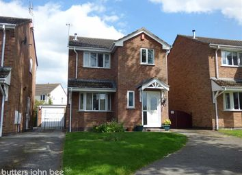 Thumbnail 3 bed detached house for sale in Chidlow Close, Hough, Crewe