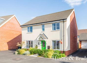 Thumbnail 4 bed detached house for sale in Sallow Walk, Dereham