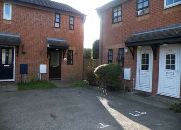 Thumbnail 1 bed end terrace house to rent in Albany Walk, Woodston, Peterborough