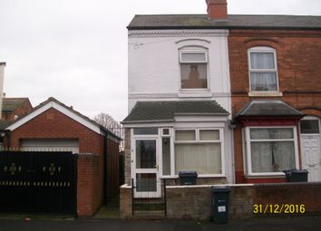 Thumbnail 3 bed end terrace house for sale in Tintern Road, Perry Barr Birmingham