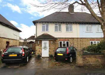 Thumbnail 3 bed semi-detached house for sale in Peartree Avenue, West Drayton