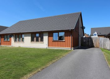 Thumbnail 2 bed semi-detached bungalow for sale in 18 Essich Gardens, Holm, Inverness