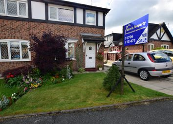 Thumbnail 3 bedroom semi-detached house for sale in Clitheroe Close, Heywood