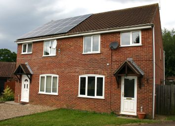 Thumbnail 3 bedroom semi-detached house to rent in Spiers Way, Diss