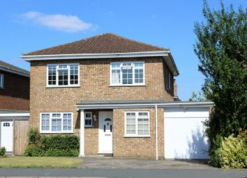 Thumbnail 4 bed detached house for sale in Arethusa Way, Bisley, Woking