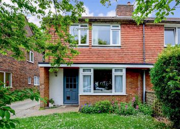 Thumbnail 3 bed semi-detached house for sale in Orchard Road, Lewes, East Sussex