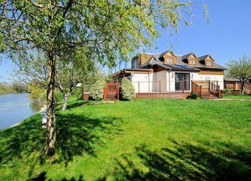 Thumbnail 6 bedroom detached house for sale in Laleham Reach, Chertsey, Surrey