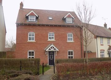 Thumbnail 5 bed detached house for sale in Voyager Drive, Swindon