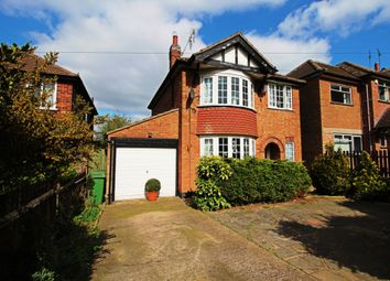 Thumbnail 3 bed detached house for sale in Uppingham Road, Leicester