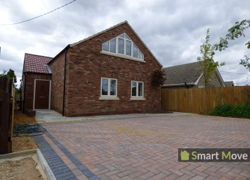 Thumbnail 3 bedroom property for sale in Gorefield Road, Leverington, Wisbech, Cambridgeshire.