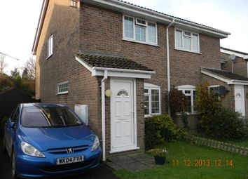 Thumbnail 2 bed end terrace house to rent in Badger Close, Honiton