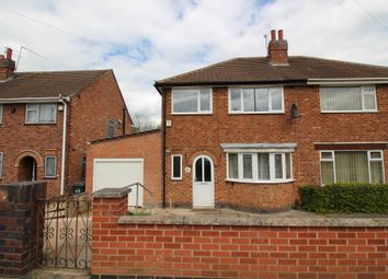 Thumbnail 4 bedroom semi-detached house for sale in Heacham Drive, Leicester