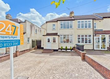 Thumbnail 3 bed semi-detached house for sale in Rollesby Road, Chessington