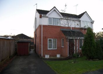 Thumbnail 2 bed semi-detached house to rent in Cedar Grove, South Normanton, Alfreton, Derbyshire