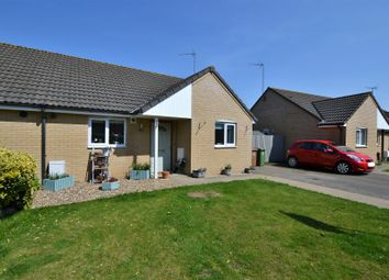 Thumbnail 2 bed semi-detached bungalow for sale in Blackthorn Road, South Wootton, King's Lynn