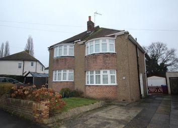 Thumbnail 2 bed semi-detached house for sale in Gillian Avenue, Aldershot