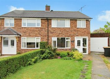 Thumbnail 3 bed semi-detached house for sale in Gilwell Close, Bedford