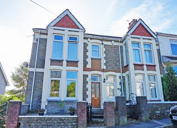 Thumbnail 3 bed semi-detached house for sale in Kings Hill, Hengoed