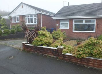 Thumbnail 1 bedroom semi-detached bungalow to rent in Libra Place, Packmoor, Stoke-On-Trent