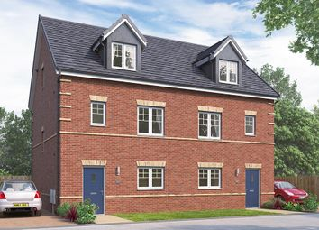 "Thumbnail 4 bed end terrace house for sale in ""The Weybridge"" at Durham Road, Stockton-On-Tees"