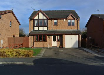 Thumbnail 4 bedroom detached house for sale in Ellison Close, Stoney Stanton, Leicester
