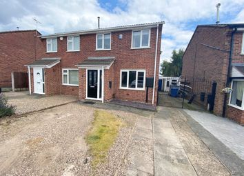 Thumbnail 3 bed semi-detached house to rent in Allan Avenue, Littleover, Derby