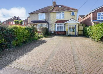 3 bed semi-detached house for sale in Swaythling Road, Southampton SO30