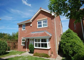 Thumbnail 4 bed detached house to rent in Parkside Gardens, Widdrington, Morpeth