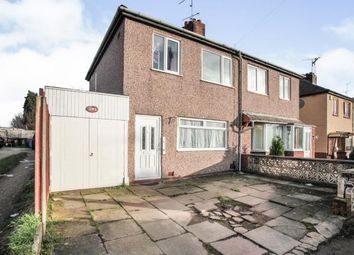 3 bed semi-detached house for sale in Glenn Street, Holbrooks, Coventry, West Midlands CV6