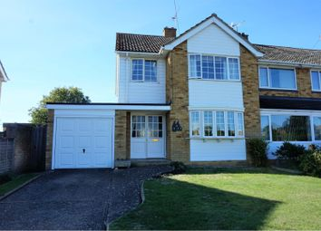 Thumbnail 3 bed semi-detached house for sale in Hanmer Way, Tonbridge