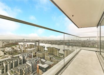 Thumbnail 2 bed flat for sale in Landmark East Tower, 24 Marsh Wall, London