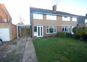 Thumbnail 3 bed property to rent in Tiverton Avenue, Baswich, Stafford