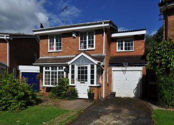 Thumbnail 4 bed detached house for sale in Snowshill Close, Church Hill North, Redditch