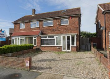 Thumbnail 3 bedroom semi-detached house for sale in Lister Road, Margate