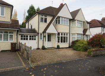 Thumbnail 3 bedroom semi-detached house for sale in Stanway Road, Shirley, Solihull