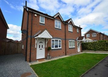 Thumbnail 3 bed semi-detached house for sale in Highfield View, Barlby, Selby