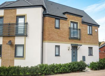 Thumbnail 3 bedroom semi-detached house for sale in Sorrel Close, Hampton Vale, Peterborough