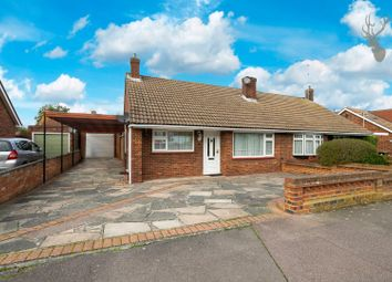 Thumbnail 2 bed bungalow to rent in Knights Walk, Abridge, Romford