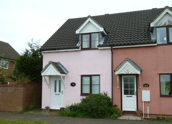 Thumbnail 2 bedroom end terrace house to rent in Wattisfield Road, Walsham-Le-Willows, Bury St Edmunds