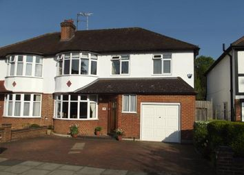 Thumbnail 5 bedroom semi-detached house for sale in Dinsdale Gardens, New Barnet, Barnet