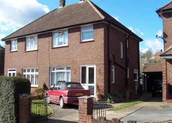 Thumbnail 4 bed semi-detached house to rent in Spring Avenue, Egham