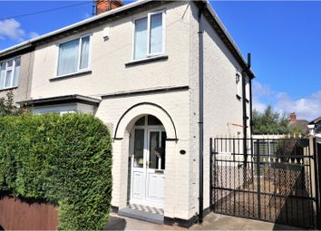 Thumbnail 3 bed semi-detached house for sale in Weelsby Grove, Grimsby