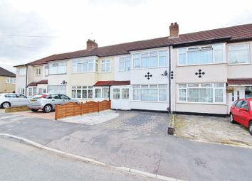 Thumbnail 3 bedroom terraced house to rent in Lynton Avenue, Romford