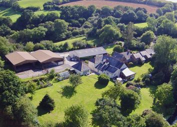 Thumbnail 7 bed farmhouse for sale in Pillaton, Cornwall