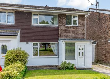 Thumbnail 3 bed semi-detached house for sale in Grenidge Way, Bedford, Bedford